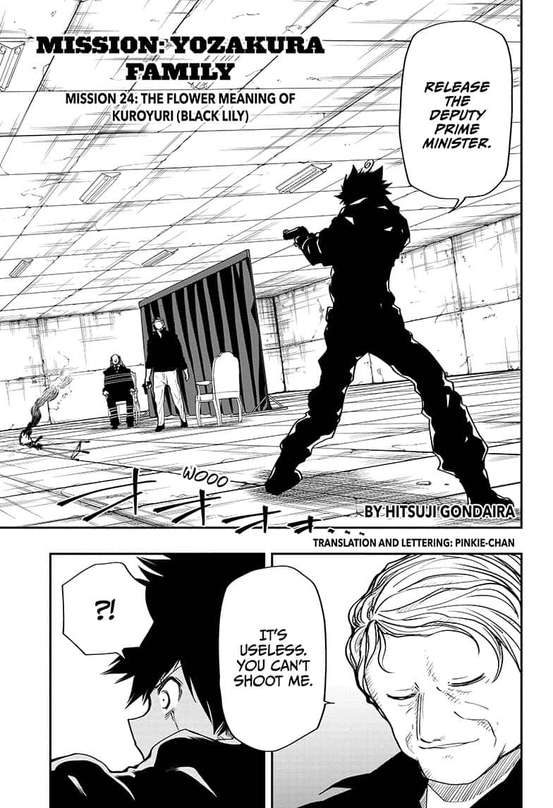 Mission: Yozakura Family - 24 page 1