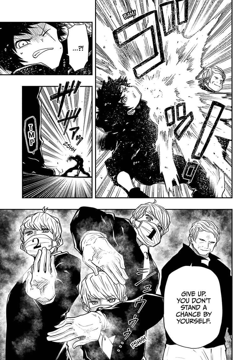 Mission: Yozakura Family - 24 page 15